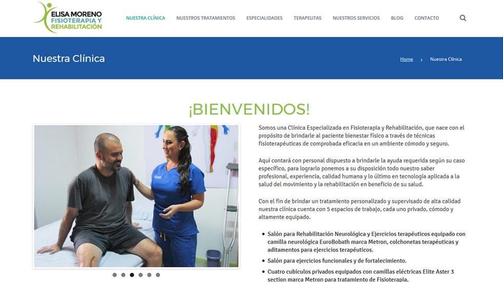Elisa Moreno ~ Fisioterapia y Rehabilitación