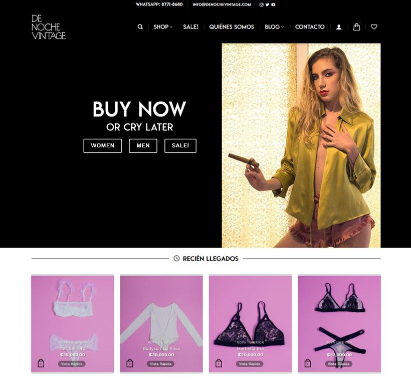 DeNocheVintage - Curated Online Vintage Shop & Blog