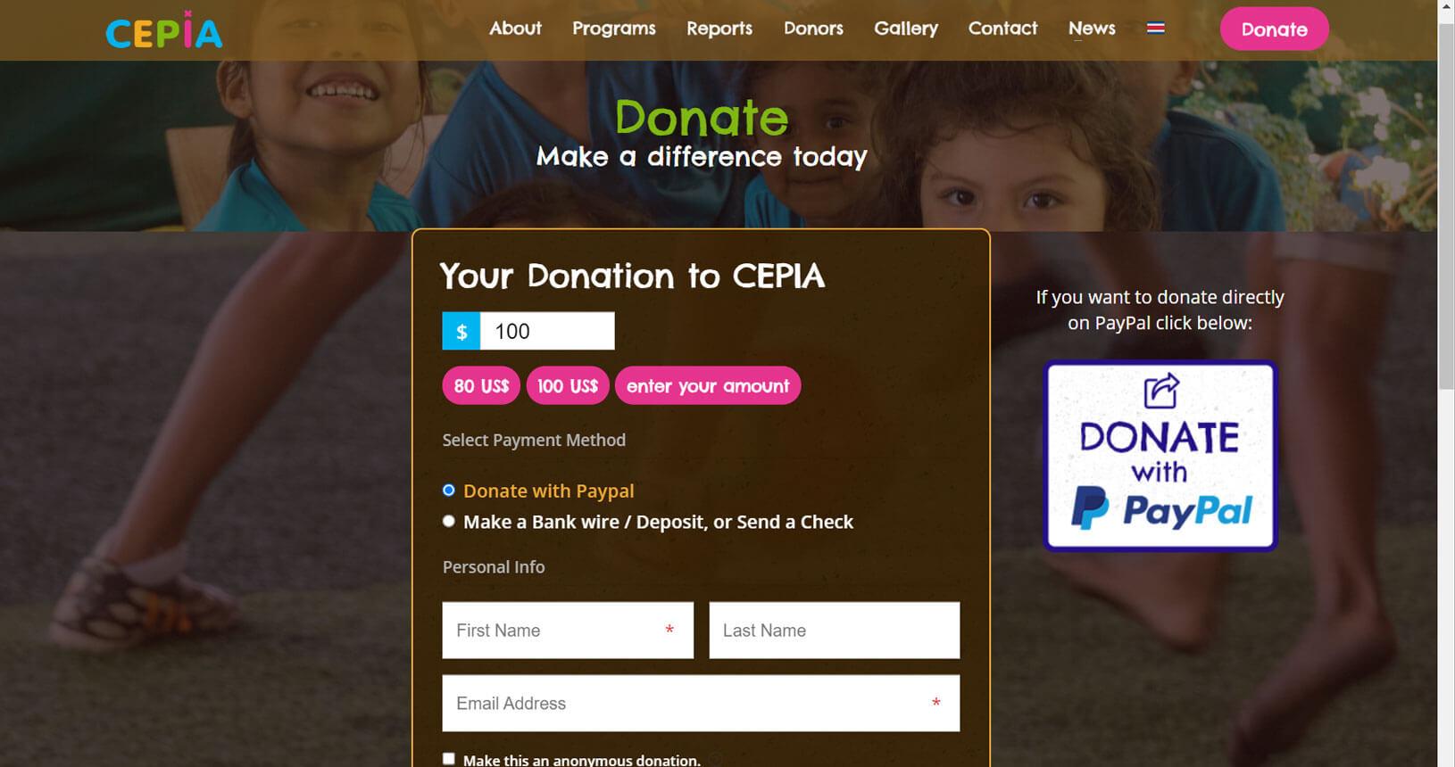 donaciones a CEPIA
